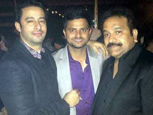 Pics Cricketer Suresh Raina S Bachelor Party Marriage Delh