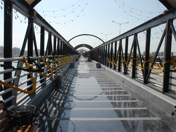 Saurabhbhai Patel Inaugurates Ancient Hoppul Bridge Surat