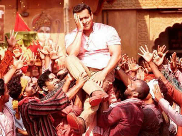 Salman Khan Shoots Colorful Holi Sequence Prem Ratan Dhan Payo