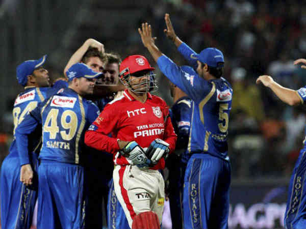 Ipl 8 Rajasthan Royals Beat Punjab By 26 Runs