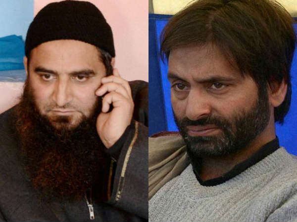 yasin malik and masrat alam