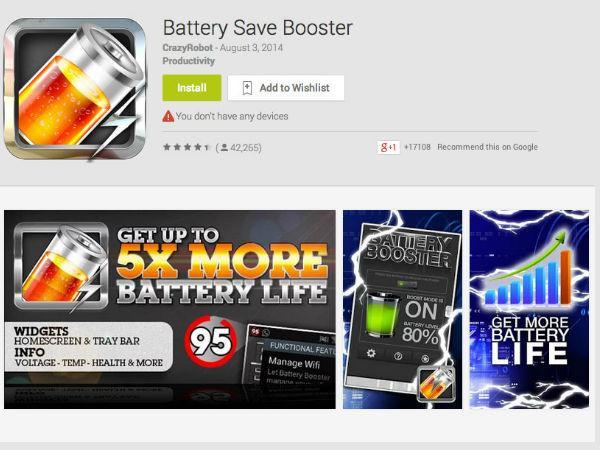 Apps Longer Battery Life