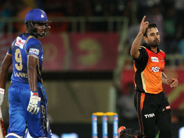 Ipl 2015 Rajasthan Royals Beat Sunrisers Hyderabad Six Wickets