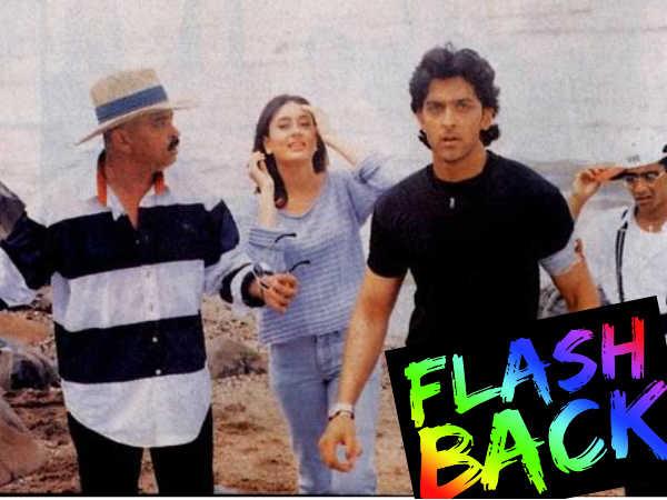 Pic The Day When Hrithik Kareena Shot Kaho Naa Pyaar Hai