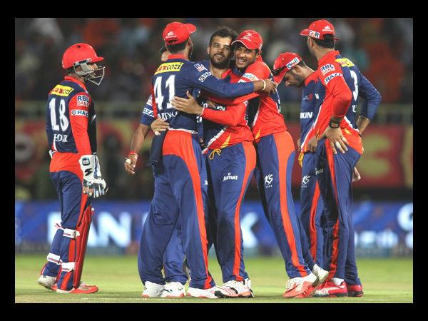 Ipl 2015 Delhi Daredevils Beat Kings Xi Punjab 9 Wickets
