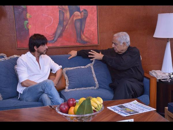 Shahrukh Khan Meets Jammu Kashmir Cm Mufti Mohammad Sayeed