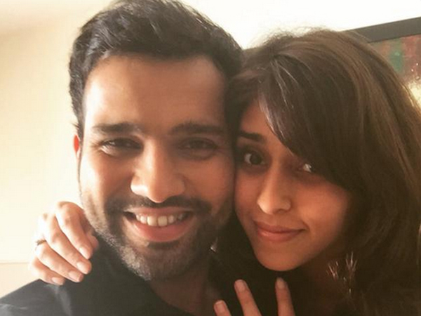 Rohit Sharma Got Engaged Sports Events Manager Ritika Sajdeh
