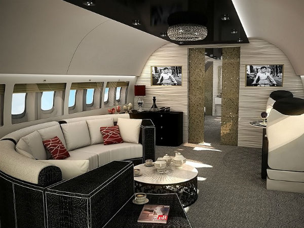 Colorful Life Luxury Private Jet Pictures