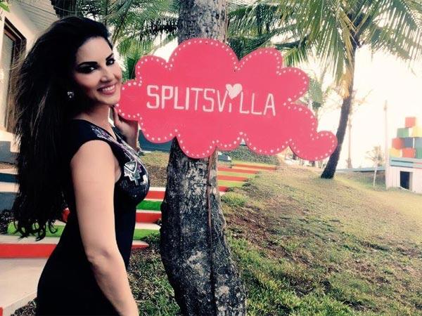 Pics Sunny Leone Shoots Mtv Splitsvilla 8 On Beach