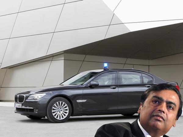 Mukesh Ambani Gets Armoured Car Bmw 7 Series