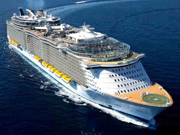Largest Cruise Ship In India Detlandcom - Cruise ships from india