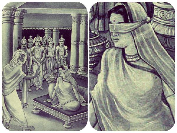 Because The Saint Vyas Boon Gandhari Became Mother 100 Sons