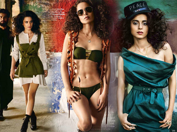 Kangana Ranaut The Hot New Vogue Cover Girl