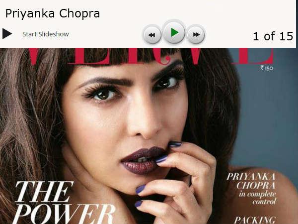 Photos Priyanka Chopra Goes Dark Dirty Power