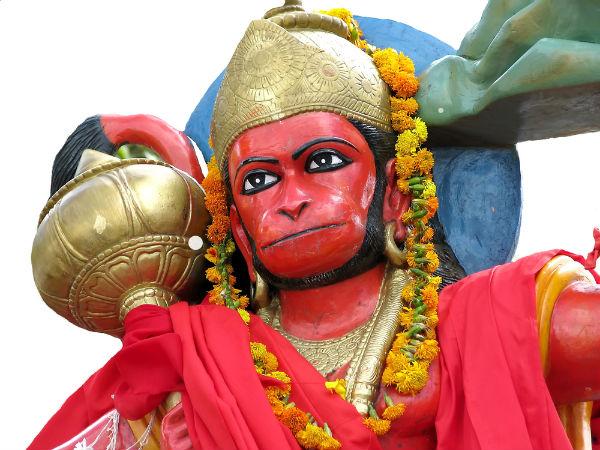 Did Lord Hanuman Have Son