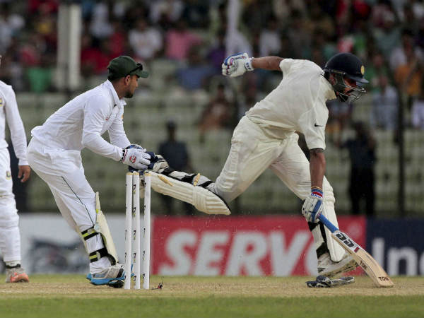 First Day Play Against Bangladesh Test India Did Not Lost Wicket Scored 239 Runs