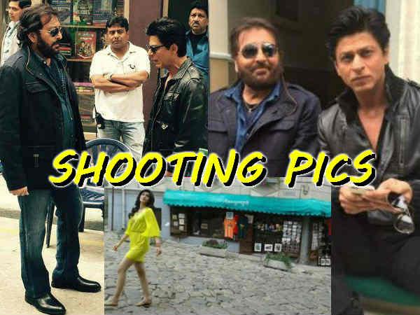 Dilwale Shooting Pics Shahrukh Khan Varun Dhawan Kriti Sanon