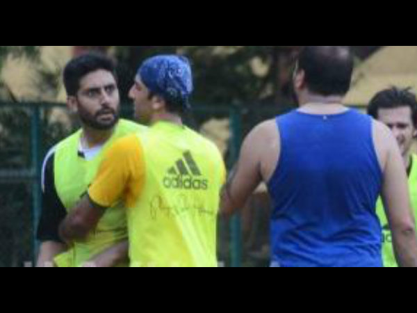 Abhishek Bachchan Gets Into Brawl With Bunty Walia Ranbir Kapoor Rescues