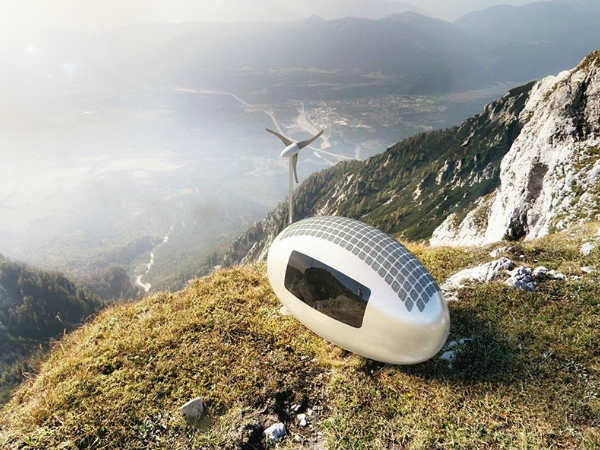 Tiny Wind Solar Powered Home