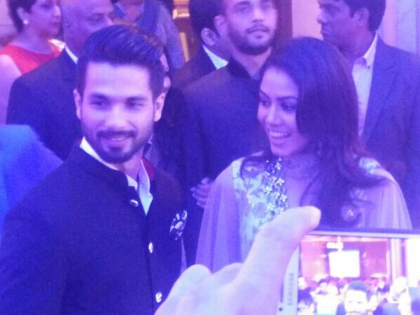 Exclusive Pics Shahid Kapoor Mira Rajput Dinner Party At Oberoi