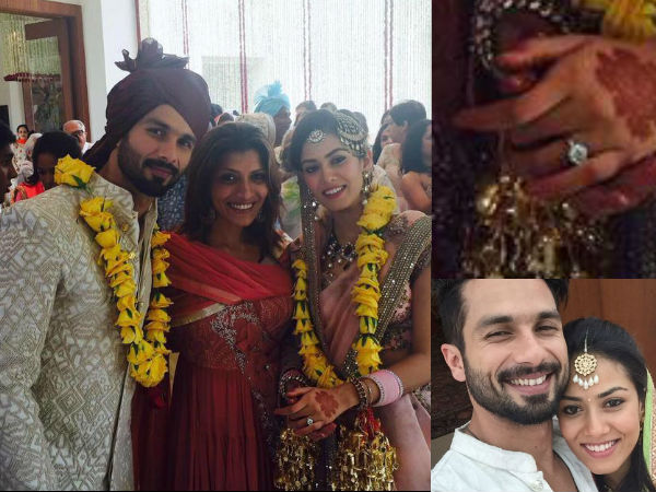 Wedding Photos Shahid Kapoor Married Mira Rajput Delhi
