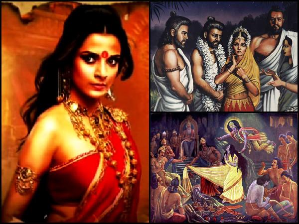 How Was Draupadi Born Mahabharat