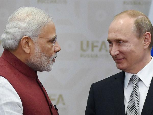 Narendra Modi Russia