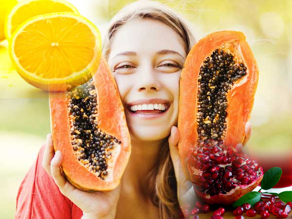 Fruits Massage On Your Skin