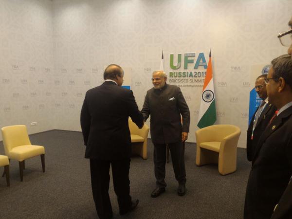 Pm Narendra Modi Pakistan Pm Nawaz Sharif A Bilateral Meet Ufa