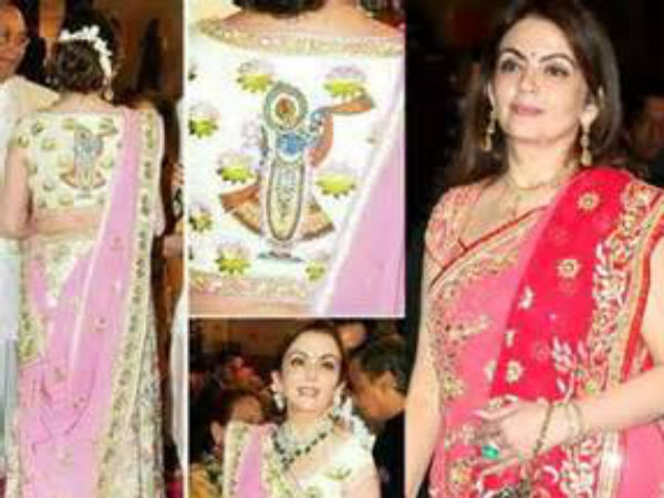 Omg Nita Ambani S Saree Worth Rupee 40 Lakh
