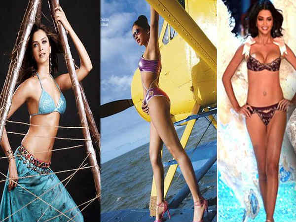 Deepika Padukone Unseen Rare Modelling Days Pics