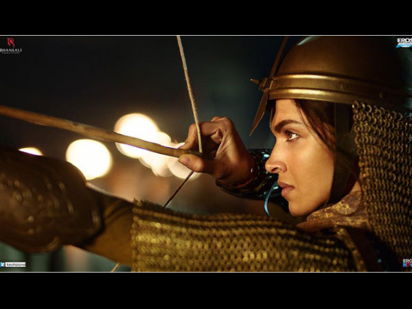 Check The First Poster Bajirao Mastani