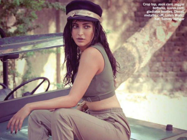 Shruti Haasan Latest Photoshoot