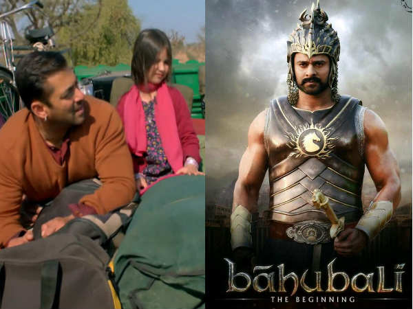 Box Office Salman Khan Bajrangi Bhaijaan Beats Baahubali