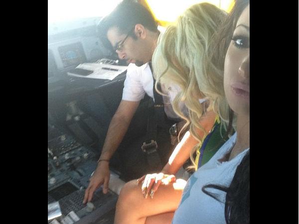 Kuwait Airways Pilot Under Fire Over Cockpit Antics With Porn Star