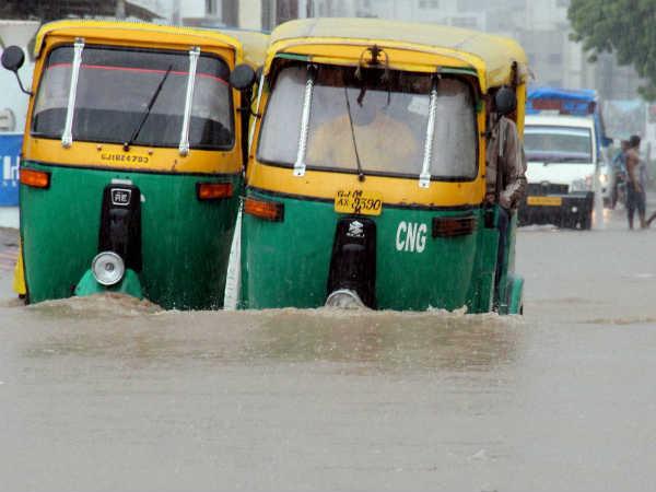 Gujarat Rajasthan Experiences Heavy Rainfall Flood Many Places