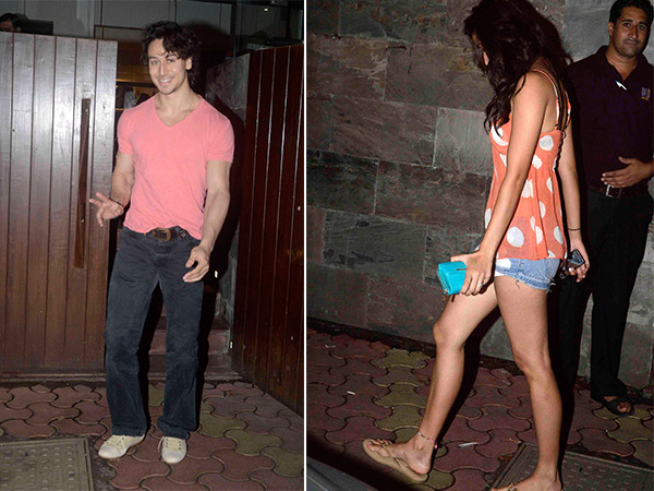 Latest Pics Tiger Shroff With Girlfriend Disha