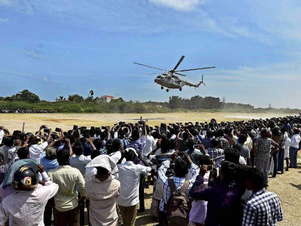 Last Rites Apj Abdul Kalam At Rameswaram Pm Arrives Rameswaram