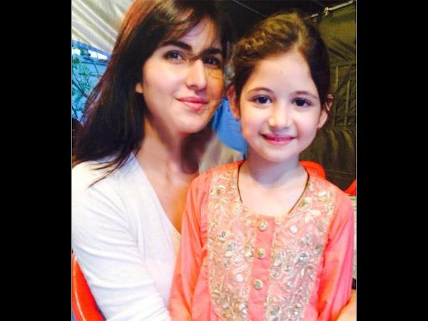 Katrina Kaif S Adorable Picture With Harshaali Malhotra