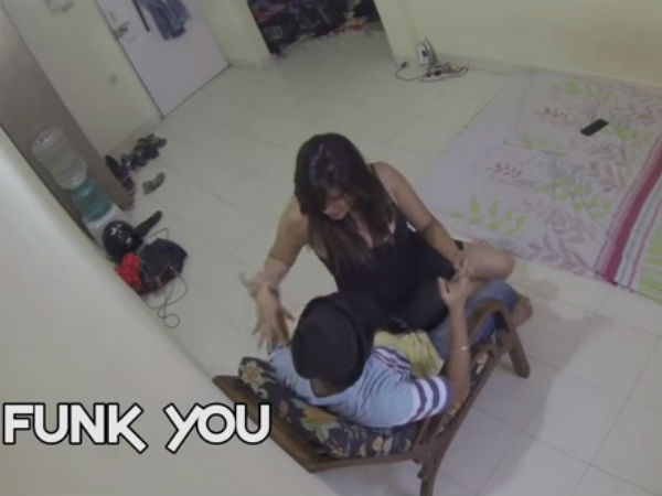 Girlfriend Seducing Friend Friendship Day Special Prank Viral Video
