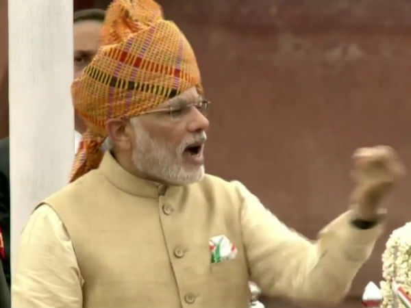 Pm Narendra Modi S 69th Independence Day Speech Live Updates From Red Fort