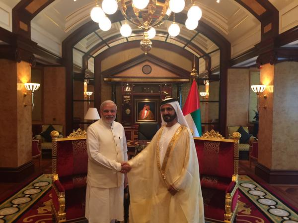 Pm Modi Uae Country Looks Forward Scale Friendly Ties With India