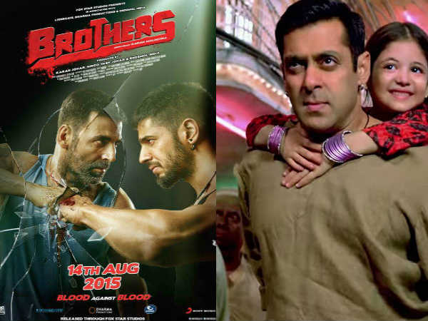 Box Office Report Bajrangi Bhaijaan Vs Brothers 1st Weekend