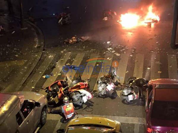 Bangkok Blast Cctv Footage