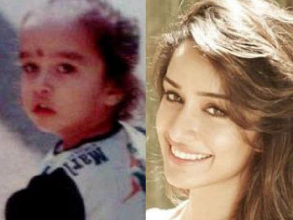 Shraddha Kapoor Unseen Childhood Pics