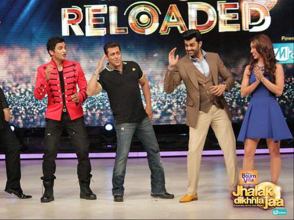 Salman Khan On Jhalak Dikhhla Jaa