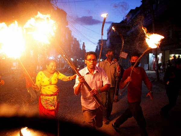 Nepal Protest Turns Violent Clashes Leave 20 Dead