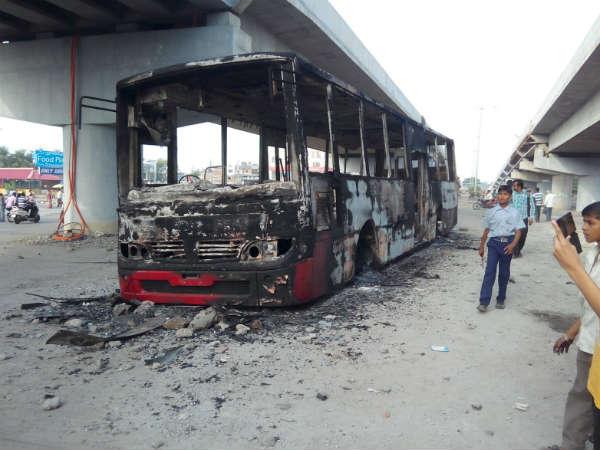 Curfew Parts Gujarat Amid Bandh Call Today Hardik Patel