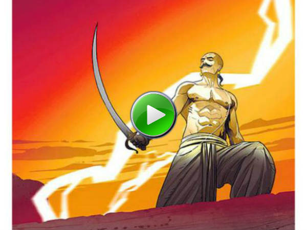 The Blazing Bajirao Trailer The Graphic Web Series On Bajirao Mastani