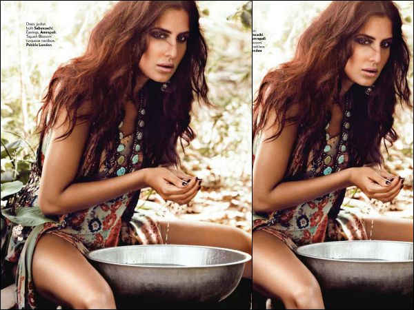 Too Damn Hot Katrina Kaif Sultry Photoshoot Vogue
